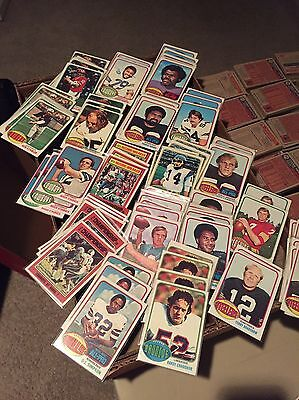 Complete Your 1976 Topps Football Card Set Most Exmt Nm Pick 20 Points Worth Lot