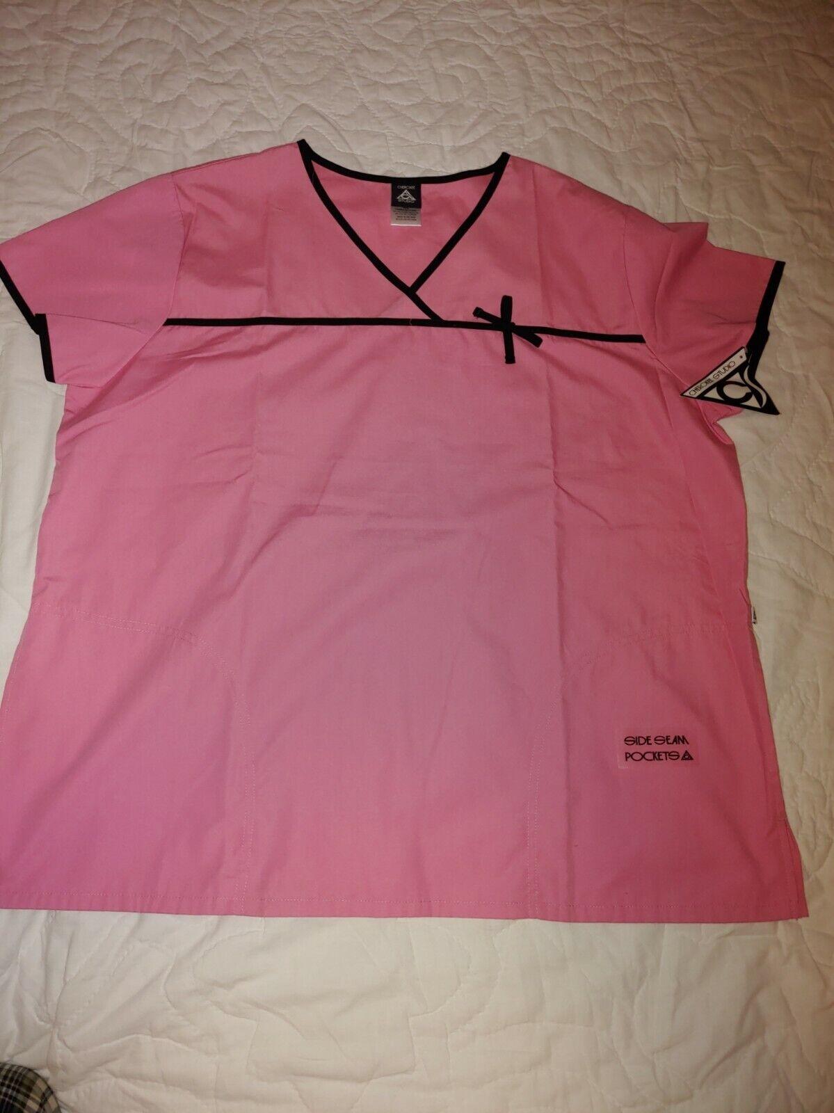 Cherokee Studio 3820 Size XL Women's V-Neck Medical Scrubs P