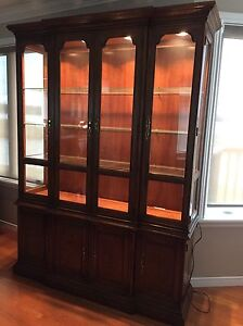Drexel China Cabinet or Dining Room Hutch