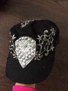 Embellished  black and silver  hat  Oakville / Halton Region Toronto (GTA) image 2