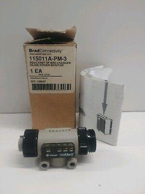 New In Box Woodhead 5 Pin Mini-change Inline Power Monitor 115011a-pm-3