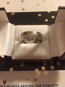 Brand New Men's Stainless Steel Rings $50!