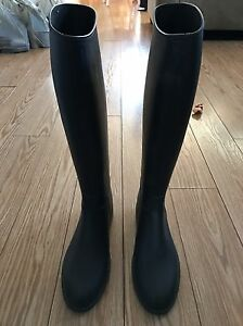 Horse back riding rubber boots