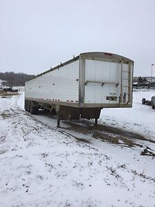 2013 timpte tri axle grain trailer December safety