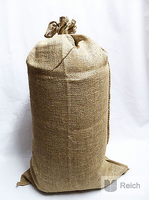 10 Jute Säcke Kartoffelsäcke Sack 50 Kg fassend Neu!