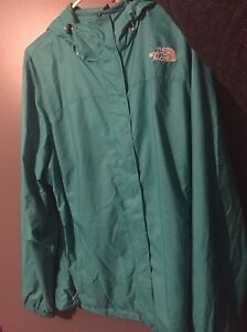 North face rain coat