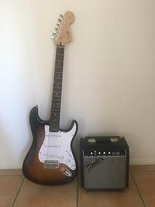 Fender Electric Guitar and Amp Arundel Gold Coast City Preview