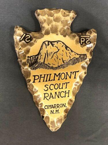 Philmont Scout Ranch Boy Scouts Arrowhead Ceramic Wall Plaque