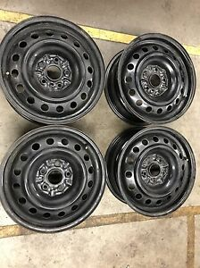"16"" steel wheels Oakville / Halton Region Toronto (GTA) image 1"