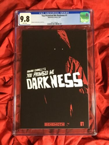 CGC 9.8~YOU PROMISED ME DARKNESS #1~COVER A 1st PRINT~DAMIAN CONNELLY~BEHEMOTH