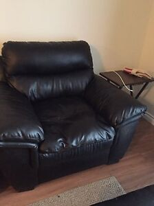 Two chocolate brown chairs for sale  Edmonton Edmonton Area image 2