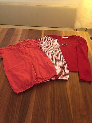Konvolut 2 T-Shirts und ein Longshirt Größe 146 / 152 Für Mädchen Nr.a9