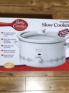 New Slow cooker