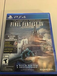 Final Fantasy XIV Online: The Complete Experience (PS4)