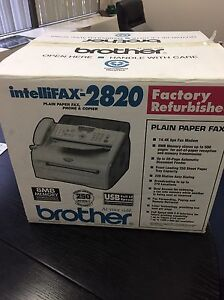 Brother fax-phone and copier in one - brand new West Island Greater Montréal image 2