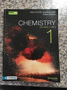 Jacaranda VCE Chemistry 1&2 textbook 2016 edition EXCELLENT CONDITION Scoresby Knox Area Preview