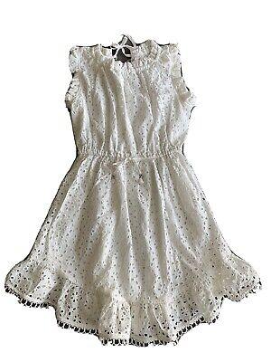 Zimmerman White Eyelet Dress Girls - Size 8