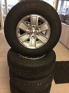 "17"" 1988-2017 GMC CHEVROLET SIERRA SILVERADO WHEELS TIRES"