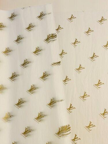 NEW Authentic Louis Vuitton Tissue  10 pcs per order