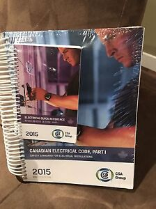 ELECTRICAL CODES BOOK 2015 BRAND NEW