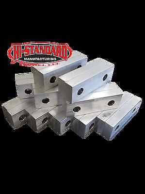 6 X 2 X 1 Standard Steel Jaws Set Fits Kurt 6 Vises 10 Pack Value Deal