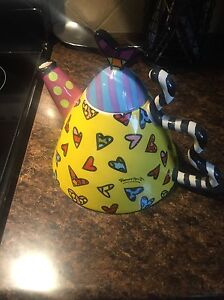 Romero- Britto tea pot