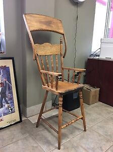 Antique wooden high chair  London Ontario image 2
