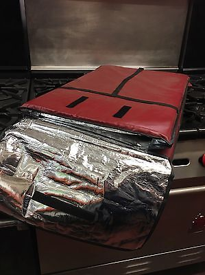New Red Pizza Delivery Bag Insulated Extra Large Xl Large L Hut Dominos