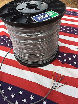 Cde Cdr Hygain Rotor Belden Cable Antenna Ham Rotator 8 Wire 50 Foot 18Ga