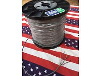 Sale CDE CDR HYGAIN ROTOR BELDEN CABLE ANTENNA HAM ROTATOR 8 WIRE 100 Foot 18GA.