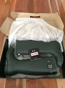 Matt hunter green rain boots