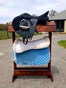 Custom Made Wooden Saddle Racks Moggill Brisbane North West Preview