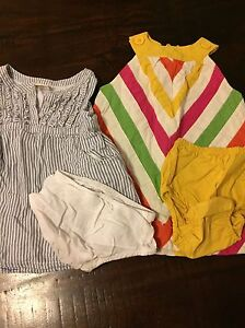 Lot of Toddler Girl Size 12-18 months Spring/Summer Clothing