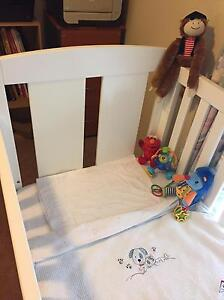 Cot with mattress Victoria Point Redland Area Preview
