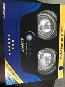 BL5000K Halo Style Xenon Fog Lights by Bling Lights