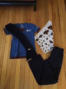 Complete Girl Guides Brownies Uniform! Size S