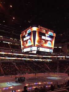 Various Oilers Tickets, Lower Bowl...Great Seats Strathcona County Edmonton Area image 2