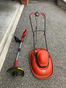 Electric lawn mower and whipper snipper Highton Geelong City Preview