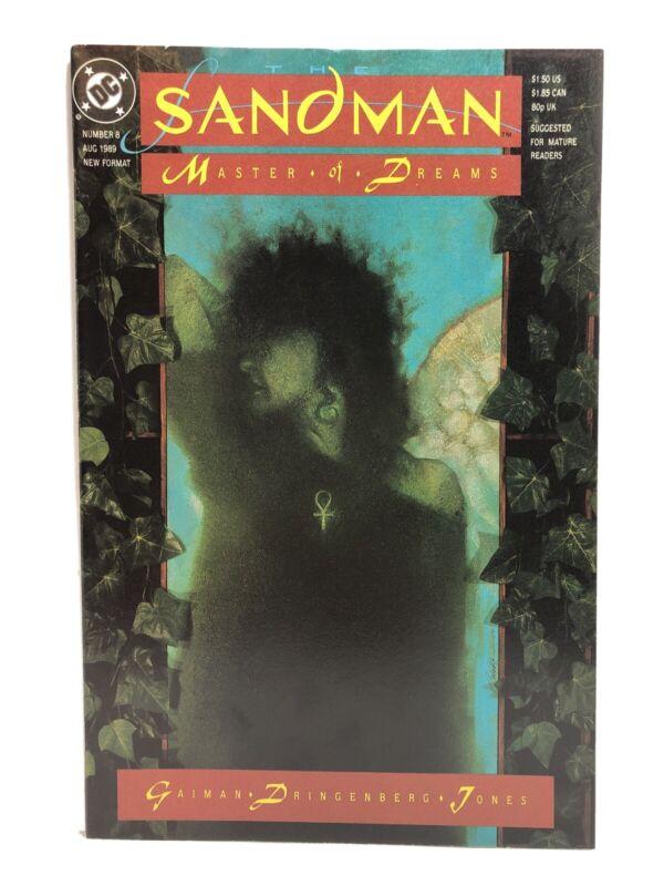 Sandman #8 (DC/Vertigo 1989) 1st Appearance of Death VF Neil Gaiman 1st Print