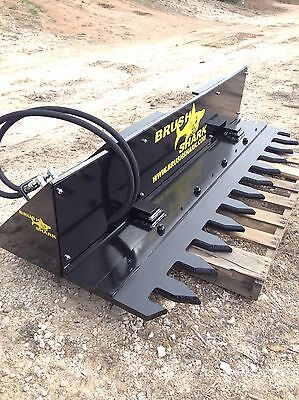 Tree Shear Tree Trimmer - Brushshark Skid Steer Attachment - 6 Automatic Cycle