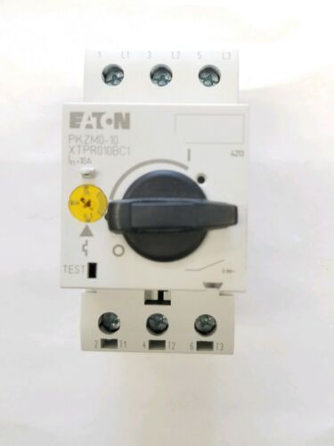 Eaton Motor Protector Type PKZM0-10 Cat #XTPR010BC