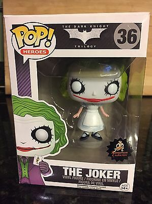 Funko Pop! The Dark Knight: The Joker *NURSE CUSTOM *Hanuman *RARE - Joker Nurse