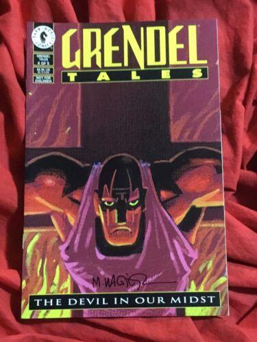 GRENDEL TALES DEVIL IN OUR MIDST #4~SIGNED MATT WAGNER~DARK HORSE COMICS BOOK