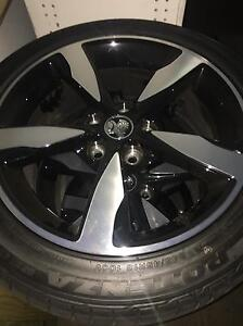 18 inch Sv6 black edition rims Ormeau Gold Coast North Preview