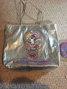 Ed Hardy Bag, Makeup bag & belt