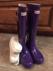 Replica hunter boots and socks