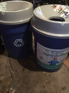 32 gallon recycling cans