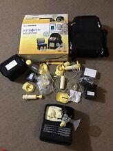 Medela electronic breast pump with bag travel set Durack Brisbane South West Preview