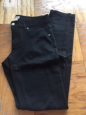 Women's Mossimo Size 5 Black Stretch Pants