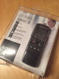 Sony ICD PX820 voice recorder $160 OBO
